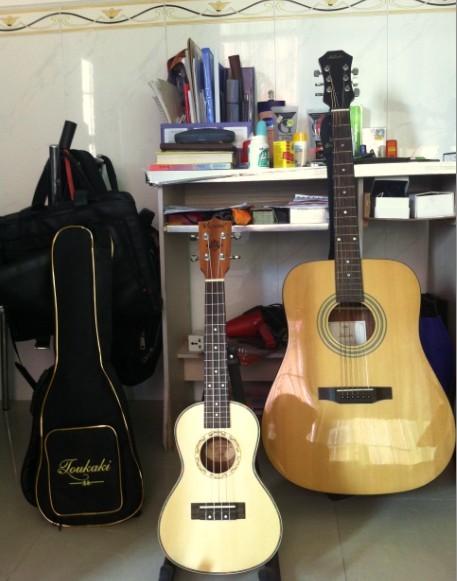 红棉木吉他 尤克里里 小吉他